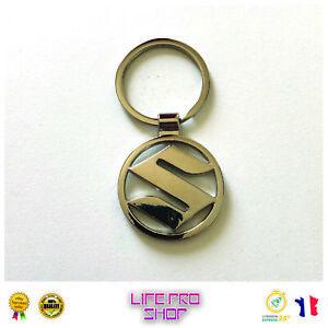 Porte-clé Métal SUZUKI - Jimny, Vitara, Ignis, Swift, SX-4, Wagon-R - Envoi 24H