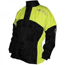 Richa Rain Warrior 100% Waterproof Over Jacket Motorcycle Motorbike Coat Hi Viz
