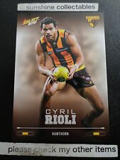 2016 AFL SELECT FOOTY STARS BASECARD NO.122 CYRIL RIOLI  HAWTHORN