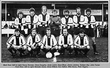 FOREST GREEN ROVERS FOOTBALL TEAM PHOTO>1981-82 SEASON