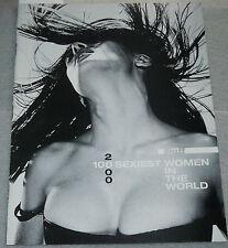 Stuff Magazine Supplement 100 Sexiest Women In The World 2000 Asia Argento