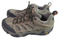 Merrell Moab Ventilator Men's Sz13 Hiking Trail Shoes Walnut Continuum Vibrant