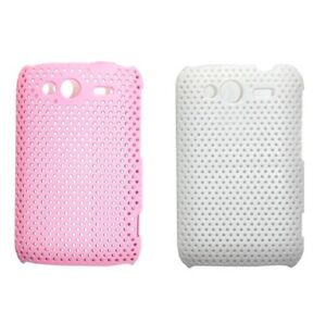 Plastic Perforated Mesh Case for HTC Wildfire S G13