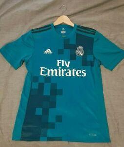 2017/18 Real Madrid 3rd Football Shirt - Basically New, Size Small.