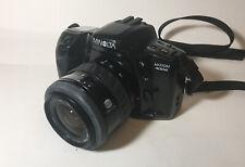 MINOLTA Maxxum 400si 35mm Film Camera w/ MINOLTA AF Zoom 35-70mm