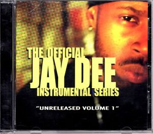 Jay Dee Unreleased Instrumental Series 2002 OG CD Compilation Hiphop V/A Dilla