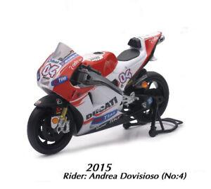 New ray 1:12 Andrea Dovizioso Ducati Toy Model Moto GP Motorbike Motorcycle Dovi
