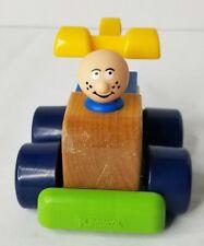 Playskool Woodles Tow Truck Vintage Toy