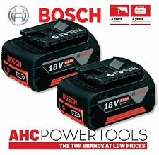 Bosch GBA 18v 5.0ah Li-ion Coolpack Battery Pack (Pack of 2) - 1600A002U5