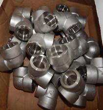 "(25)  1""  Socket Weld   90° Elbow  304/304L  3000LB   ""New other""  TS1"