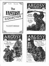 THE FANTASY COLLECTOR #218 - pulp fanzine - Talbot Mundy, Paperback Collector