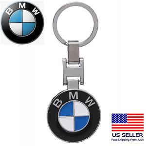 BMW Classic Logo Keychain Key Ring with BMW Great Gift Idea Lifetime Warranty A+