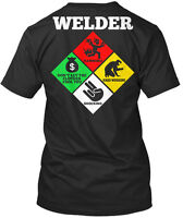 Weld Diamond Shirt - Funny Gift for Welder  - Premium Tee T-Shirt