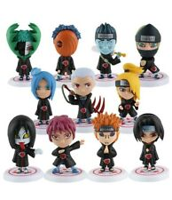 Set 11 Naruto Shippuden Akatsuki Toy Figure Doll New Without Box