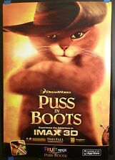 Puss in Boots (2011) Original 27x40 Movie DS Poster (Antonio Banderas)