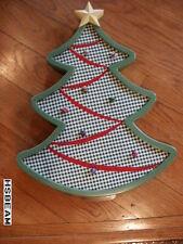 Pottery Barn Kids PBK Tree Shaped Christmas Card Holder push pink corkboard nib