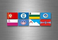 Aufkleber sticker bundesstaat lander flagge flaggen stempel fahne Kirgisistan