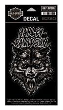 Harley Davidson ® noche Wolf Medio Mate Decal Sticker DC273803 Nuevo Original