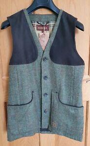 "Harkila Stornoway Tweed Shooting  Waistcoat - Mens Size 48 (UK 38"")"