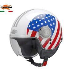 CASCO HELMET JET KV8 USA FLAG BANDIERA AMERICANA  KAPPA  TG S OFFERTISSIMA