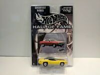 Hot Wheels:  2002 Hall of Fame Greatest Rides:  Plymouth GTX NIP