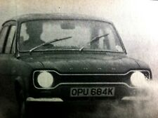 FORD ESCORT Mk I SPORT -1971 - Road Test removed from AUTOCAR  magazine