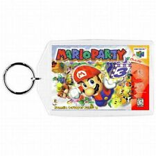 Nintendo 64 N64  MARIO PARTY 1  Box Cover Game Cartridge  Keychain New