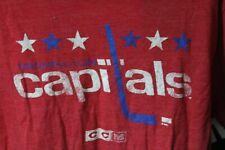 CCM Classic Team Washington Capitals T-Shirt Red Size Medium