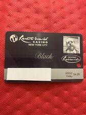 Resorts World Casino New York City Black Players Slot Card Exp 4/20