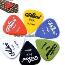 100pcs Acoustic Guitare électrique Picks plectres(épaisseur et couleurs assortie