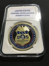 CIA United States Central Intelligence Agency Special Agent Challenge Coin 40mm