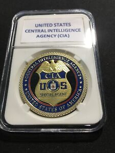 CIA United States Central Intelligence Agency Special Agent Challenge Coin G-20