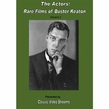 NEW The Actors: Rare Films Of Buster Keaton Vol.2 (DVD)