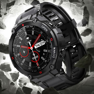 Waterproof Sports Smart Watch Bluetooth Call Blood Pressure Heart Rate Monitor
