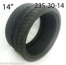 "TQU27 14"" FRONT TYRE SPY 350 ROAD LEGAL QUAD BIKE TYRE LOW PROFILE 235-30-14"