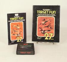 Vintage Boxed Atari 2600 game Sears Tele-Games Target Fun Gatefold  Tested