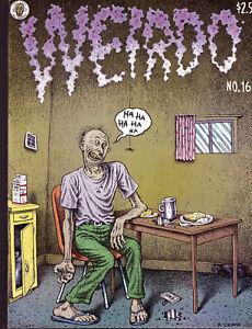 Weirdo # 16 - Last Gasp, 1986 - Robert Crumb - underground comix - VF/NM