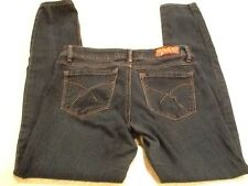 2BWU To Be With You Super Low Rise Skinny Blue Jeans - Size 5 - 30-32x30 Actual