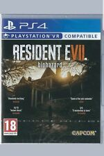 Playstation 4  Resident Evil 7 Biohazard (PSVR) BRAND NEW