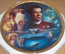 HAMILTON PLATE COLLECTION STAR TREK THE VOYAGE HOME Limited Edition Excellent