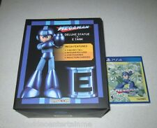 Mega Man Statue & E-Tank With Mega Man Legacy Collection PS4 Special Edition
