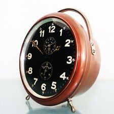 JUNGHANS Mantel REPEAT Alarm Clock XL TOP QUALITY! Antique BAUHAUS 1920s Germany