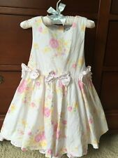 Girls Polly & Friends Dress Pink Flower Perfect for a Special Occasion 24 Months