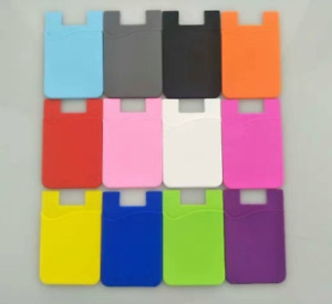 5PCS Lot Universal Adhesive Pocket stick on Wallet Card Holder Pouch Case Phone