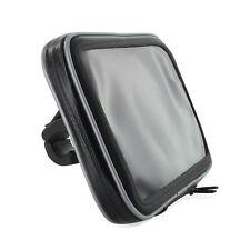 Motorrad Set für Archos 70 Oxygen Tablet Fahrrad Bike Tasche Halterung schwarz