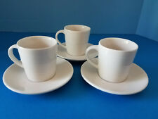 At Home Collection 2004 Demi Textured 3oz Cup/Saucer 6 Pcs #188509 Starbucks NWT