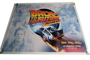 Back to the Future movie UK quad poster ORIGINAL D/S full size Future Day
