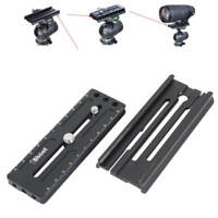 Clamp Adapter +Arca-Swiss Fit Quick Release Plate for Manfrotto Gitzo Fluid Head