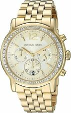 Michael Kors Women's MK5982 Baisley Gold Stainless-Steel Watch