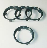 4 X 60.1-57.1 Roue Alliage Locating HUB Spigot Rings Fit AUDI A4 Avant B5 B6 B7